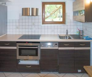 Küche/Küchenzeile in der Unterkunft Applewaters