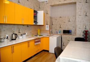 Кухня або міні-кухня у Green Street Hostel