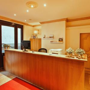 Lobby/Rezeption in der Unterkunft Hotel Thüringer Hof