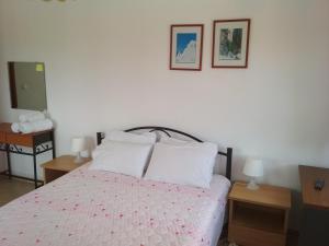Krevet ili kreveti u jedinici u okviru objekta Paschalia Studios