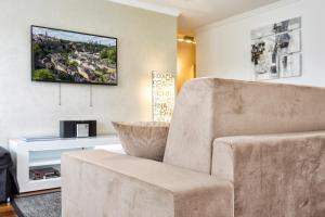 Ein Sitzbereich in der Unterkunft The Queen Luxury Apartments - Villa Vinicia
