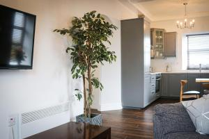 A kitchen or kitchenette at Cill Aodain Court Hotel
