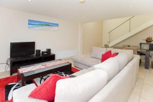 A seating area at Sandcastles Unit 18 - Fingal Bay