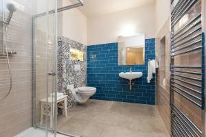 Koupelna v ubytování Penzion Onyx