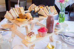 Breakfast options available to guests at Solberge Hall Hotel