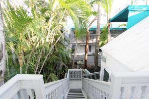 A balcony or terrace at Eden House