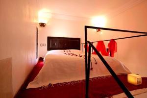 Cama o camas de una habitación en Riad Davia