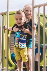 Children staying at Vakantiedorp Marinapark