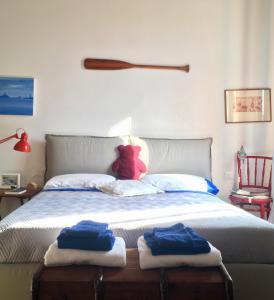 Letto o letti in una camera di La Casa Del Pittore