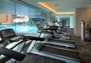 The fitness centre and/or fitness facilities at Furama Bukit Bintang, Kuala Lumpur