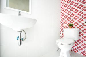 Ein Badezimmer in der Unterkunft Smile Inn