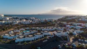 Een luchtfoto van Bungalows Coloradamar
