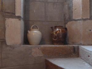 Salle de bains dans l'établissement Château de Clusors