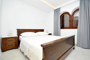 Krevet ili kreveti u jedinici u objektu Villa Fani - Apartments in Trogir