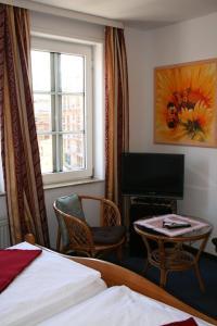 TV/Unterhaltungsangebot in der Unterkunft Hotel Village