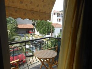 Un balcon sau o terasă la Pension Itzes