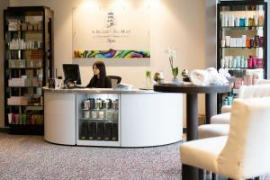 The lobby or reception area at St Brelade's Bay Hotel