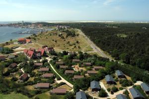 Een luchtfoto van Wellness Suites Dellewal
