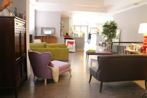 The lobby or reception area at Hotel Tuscania Panoramico