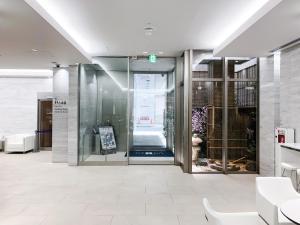 A bathroom at HOTEL UNIZO Osaka Umeda