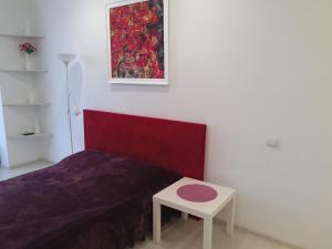 Кровать или кровати в номере Apartment Morskie