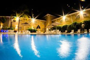 A piscina localizada em Gandini Hotel ou nos arredores