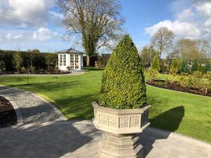 A garden outside Crowfield Country House