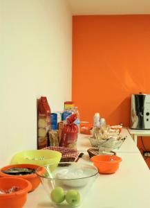Opciones de desayuno disponibles en Kaps Hostel Vigo