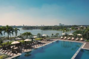 A view of the pool at Melia Yangon or nearby