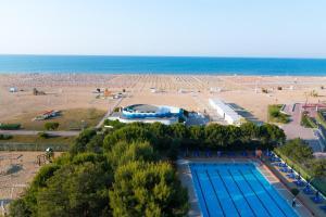 Výhled na bazén z ubytování Hotel Principe nebo okolí