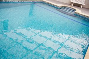 The swimming pool at or near Hotel Morlans