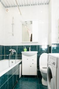 Ванная комната в April on Kommunisticheskaya 77/2