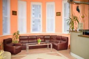 Кът за сядане в Семеен Хотел Варна