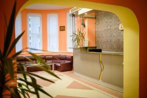 Лоби или рецепция в Семеен Хотел Варна