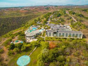 Uma vista aérea de Xingó Parque Hotel & Resort