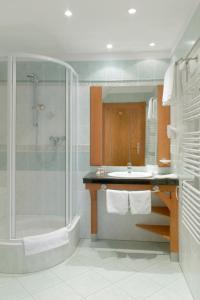 Łazienka w obiekcie Łeba Hotel & Spa