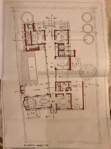 The floor plan of Adobe Charm