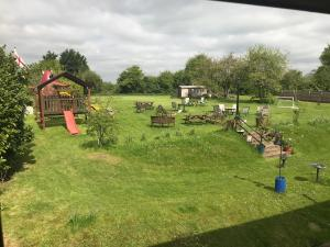 Children's play area at Englands Rose