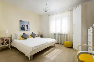 Cama o camas de una habitación en Holiday Home Vallis