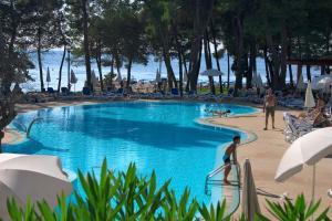 Der Swimmingpool an oder in der Nähe von Hotel Sol Aurora for Plava Laguna