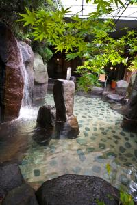 The swimming pool at or near Naniwa Issui