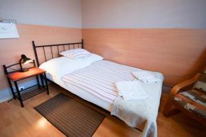 Łóżko lub łóżka w pokoju w obiekcie Hotel U Stefaniaków