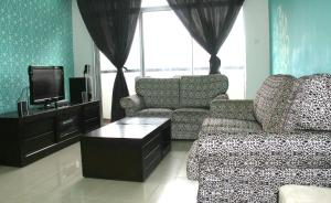 A seating area at Penaga Condominium