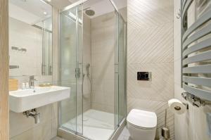 Łazienka w obiekcie Ratusz B&B