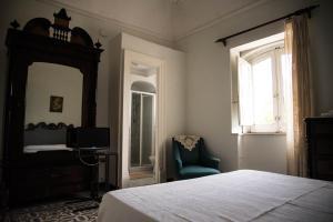 Ein Bett oder Betten in einem Zimmer der Unterkunft B&B Valle Allegra