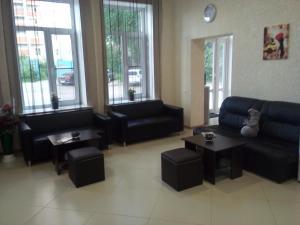 Гостиная зона в Отель и хостел Люкс на Городском
