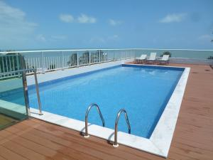 The swimming pool at or near Jardins do Atlântico Cabo Branco Beira-Mar