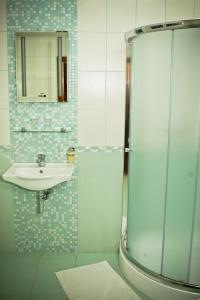 Koupelna v ubytování Villa Golf