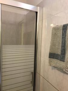 Ένα μπάνιο στο Remezzo Apartments