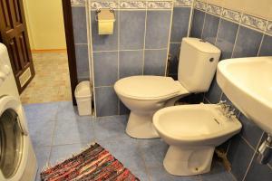 A bathroom at Central Flat on Halytska Str